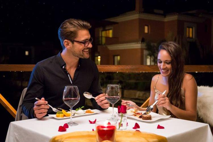 The love menu | romantic meals  monte santo resort carvoeiro