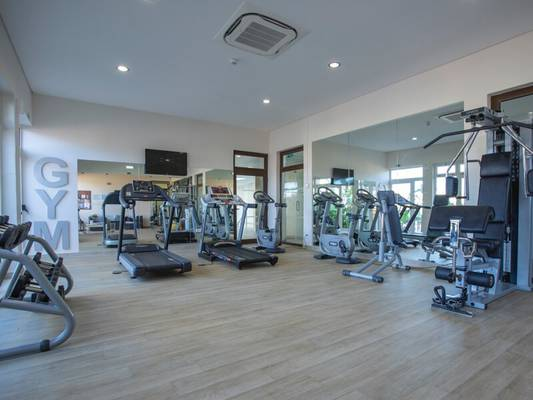 Gym  monte santo resort carvoeiro